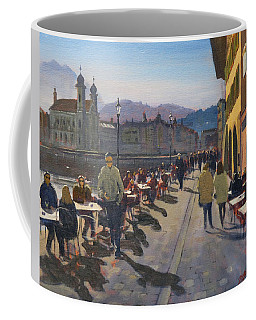 Lunchtime In Luzern Coffee Mug