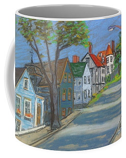 Lunenburg Street Scene Coffee Mug
