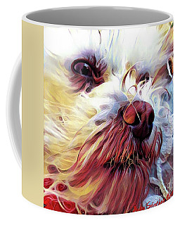 Lupi Coffee Mug by Judy Morris
