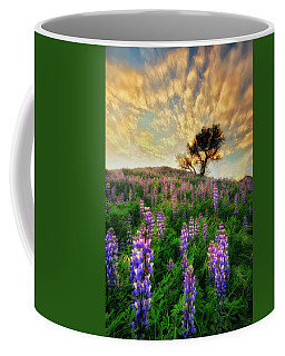 Lupine On Lupine Coffee Mug
