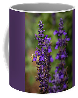 Lupine Visitors Coffee Mug