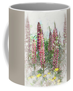Lupine Coffee Mug