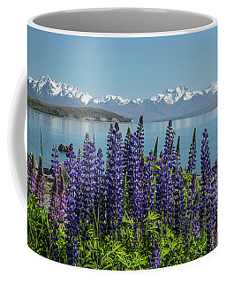 Lupines At Lake Tekapo Coffee Mug