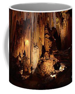 Coffee Mug featuring the photograph Luray Dark Caverns by Paul Ward