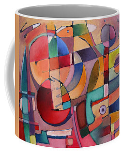 Coffee Mug featuring the painting Lure Eye Expression by Jason Williamson