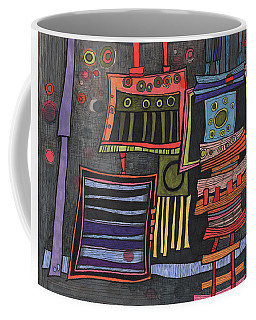 Lurking Under The Bed Coffee Mug by Sandra Church