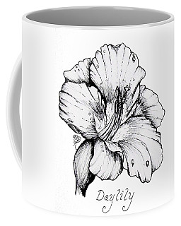 Luscious Daylily  Coffee Mug