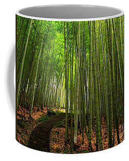 Lush Bamboo Forest Coffee Mug