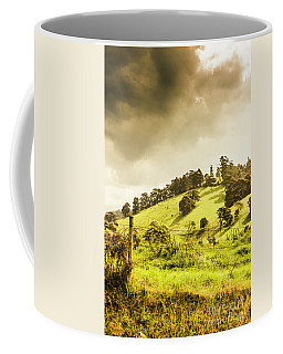 Lush Green Country Farmland Coffee Mug
