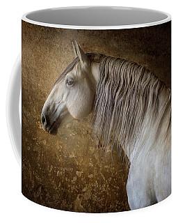 Lusitano Portrait Coffee Mug by Ekaterina Druz