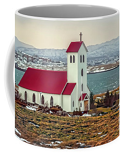 Lutheran Church In Iceland Coffee Mug