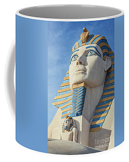 Luxor Casino Egyptian Pharaoh In The Morning Coffee Mug