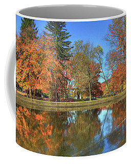 Coffee Mug featuring the photograph Lykens Glen Reflections by Lori Deiter