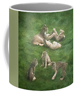 Lynx In The Mist Coffee Mug
