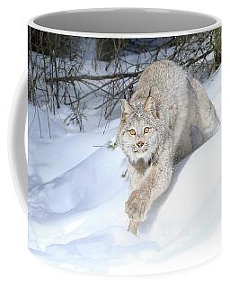 Lynx Lunge Coffee Mug