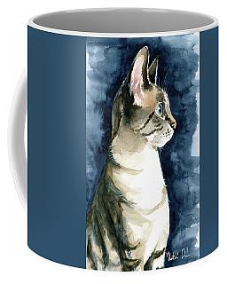 Lynx Point Cat Portrait Coffee Mug