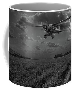 Lysander On Secret Operation Bw Version Coffee Mug by Gary Eason