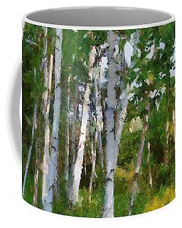 M-22 Birches Coffee Mug