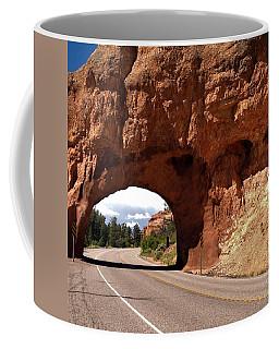 M-a-y-b-e We Should Just Turn Around Coffee Mug