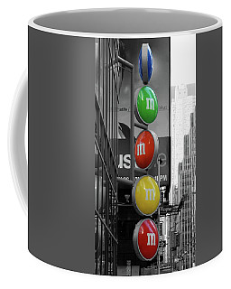 M And Ms In New York City Coffee Mug