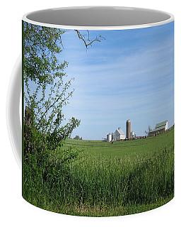 Coffee Mug featuring the photograph M Angus Farm by Dylan Punke