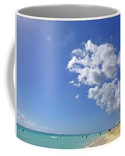 M Day At The Beach 2 Coffee Mug