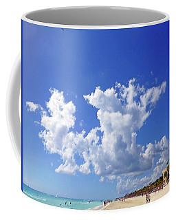 M Day At The Beach Coffee Mug
