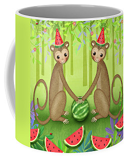 M Is For Monkeys Coffee Mug