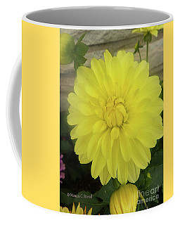 M Shades Of Yellow Flowers Collection No. Y90 Coffee Mug