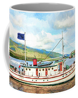 M/v Teal Coffee Mug