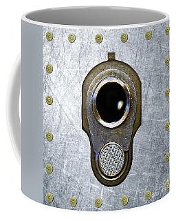 M1911 45 Framed With 45 Case Heads Coffee Mug by M L C