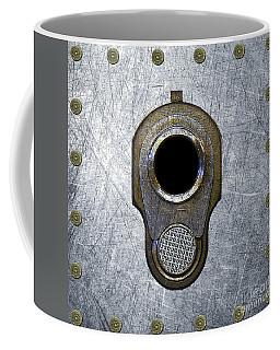 M1911 45 Framed With 45 Case Heads Coffee Mug