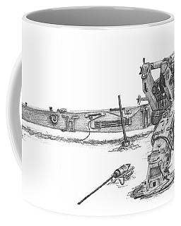 M198 Howitzer - Standard Size Prints Coffee Mug