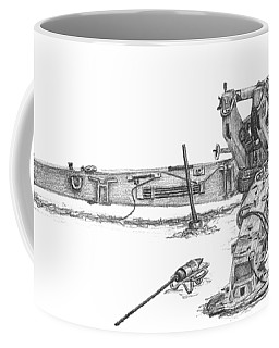 M198 Howitzer - Natural Sized Prints Coffee Mug