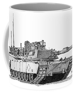 M1a1 Battalion Commander Tank Coffee Mug