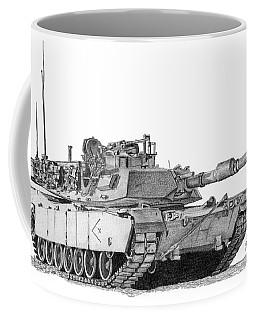 M1a1 D Company Xo Tank Coffee Mug