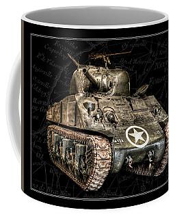 M4 Sherman Tank Bk Bg Coffee Mug