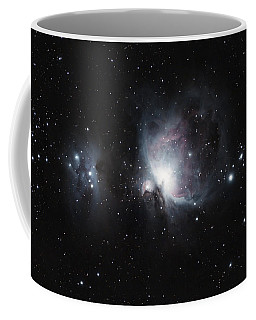 M42 M43  Orion Nebula  Coffee Mug by Christopher L Thomley