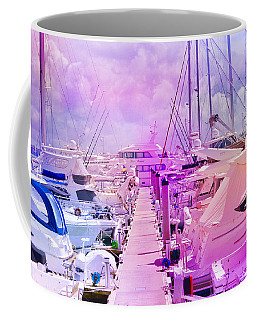 Marina In The Morning Glow Coffee Mug