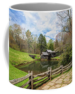 Mabry Mill In The Spring Coffee Mug