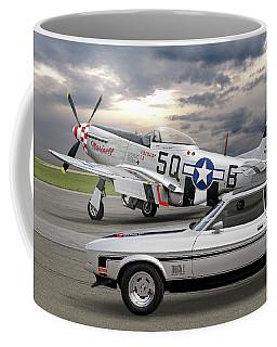 Mach 1 Mustang With P51  Coffee Mug