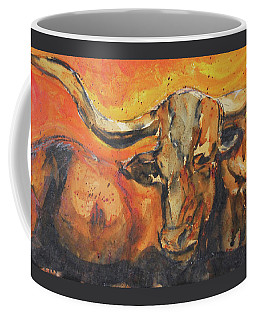 Macho Longhorn Coffee Mug