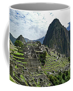 Machu Picchu Coffee Mug by Allen Sheffield