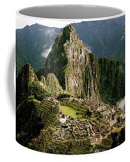 Machu Picchu At Sunrise Coffee Mug