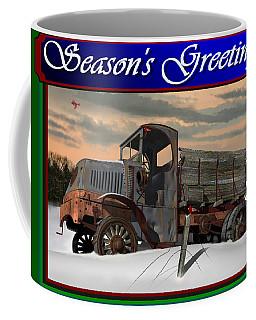 Mack Ac Season's Greetings Coffee Mug