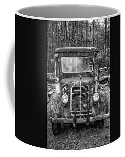 Mack Truck In A Junkyard Coffee Mug