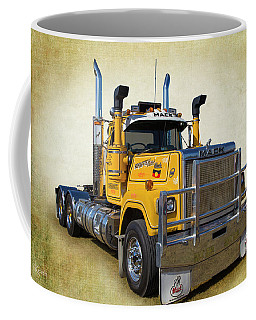 Mack Truck Coffee Mug by Keith Hawley