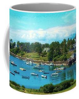 Mackerel Cove On Bailey Island Coffee Mug