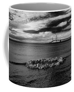 Mackinac Bridge - Infrared 03 Coffee Mug