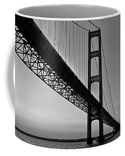 Mackinac Bridge At Sunset Coffee Mug